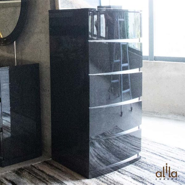 Bộ Phòng Ngủ 4 Món Grey KB836 Alila
