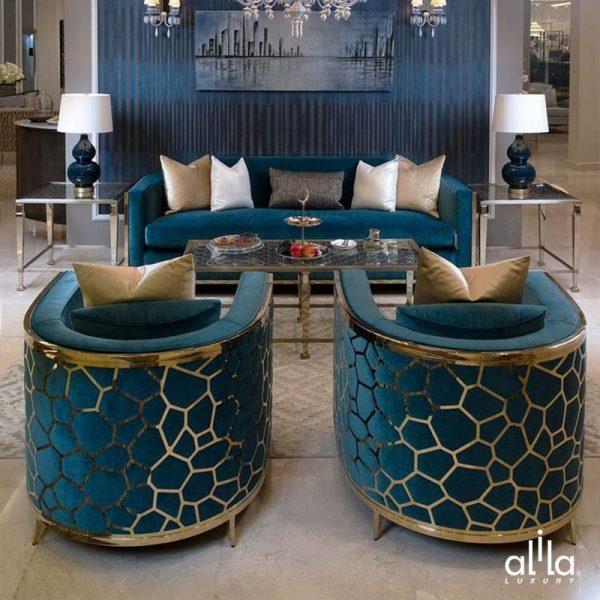 Bộ Sofa Bọc Nhung EF017 Alila