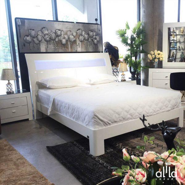 Bộ Phòng Ngủ White SB889 Alila